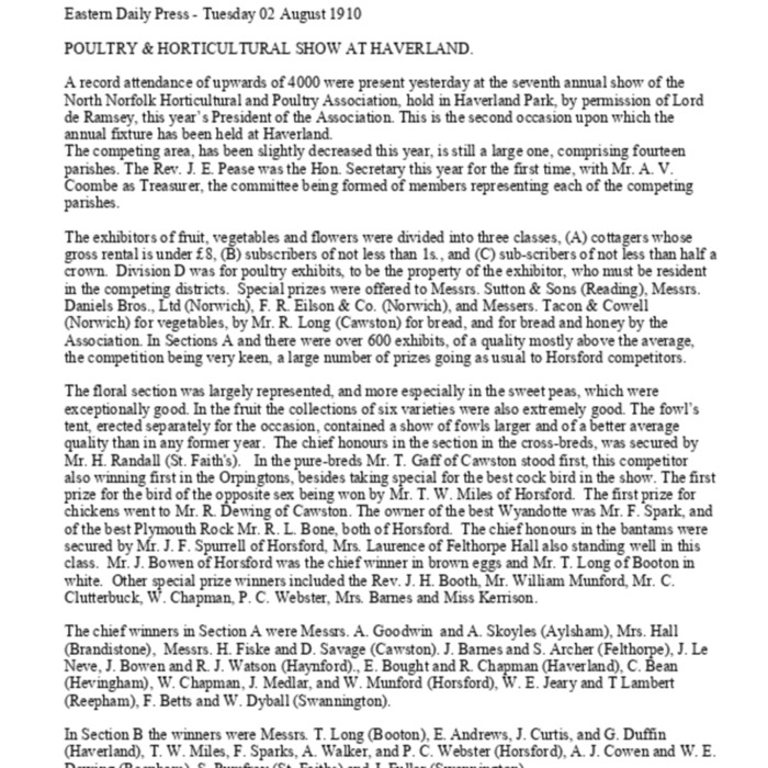 Haveringland and Parishes - Country Show 1910.pdf