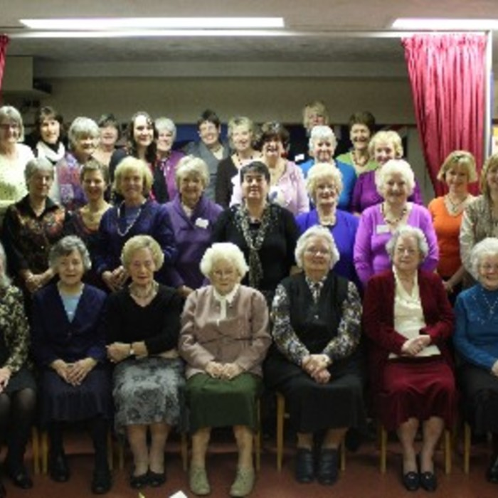 Cawston WI  at 2nd Feb 2011 Medi view.jpg