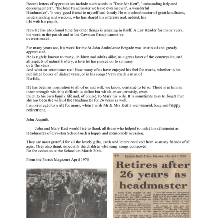 Cawston Headmaster retires Mr John Kett By John Asquith.pdf
