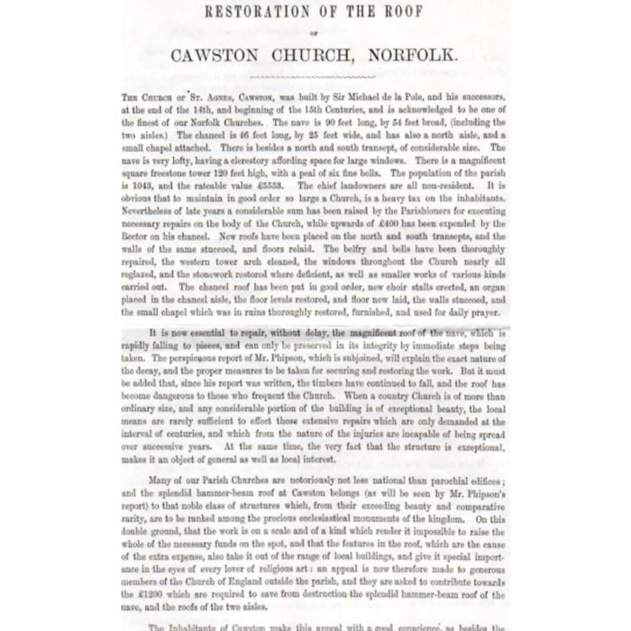 Cawston Church Roof Restoration 1875.pdf