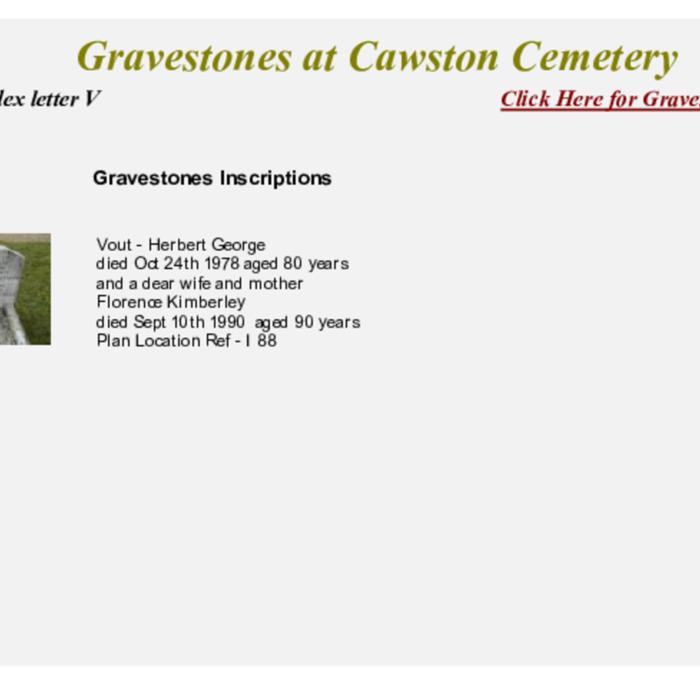 Gravestones at Cemetery Index V.pdf