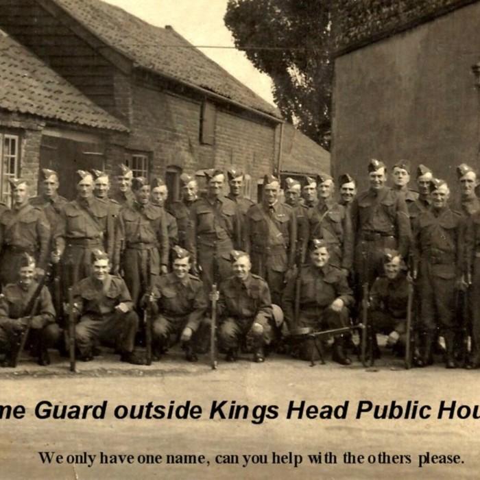 Home Guard outside Kings Head Cawston.jpg