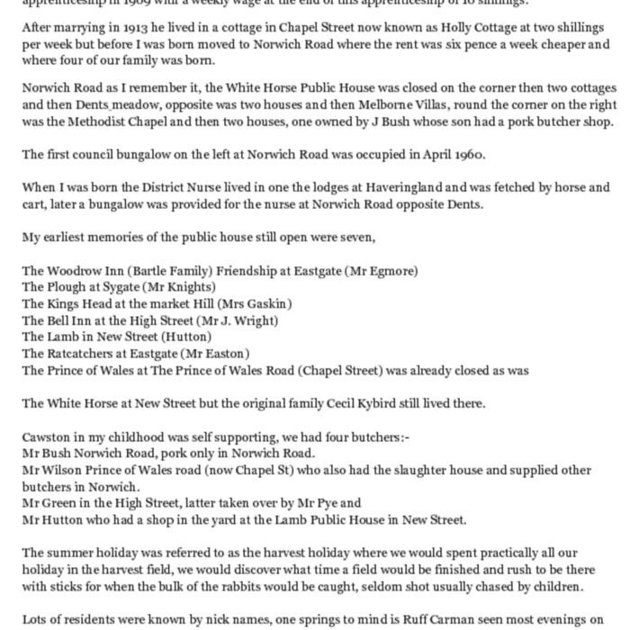 Cawston 1912 - 1920 as Remembered by Ivy Lake.pdf